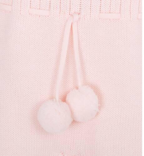 Pelele rosa con pompones de Wedoble | Aiana Larocca