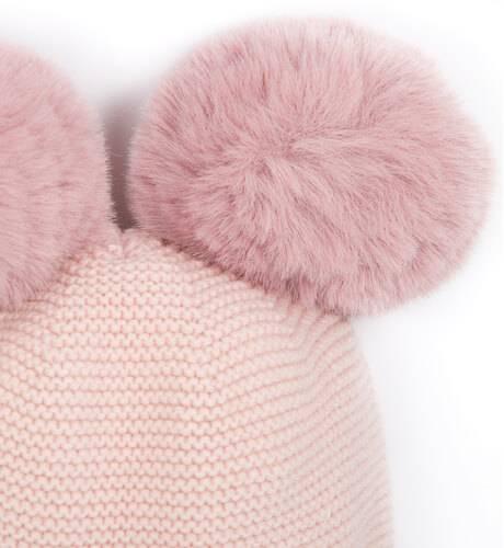 Gorro rosa pompones de Martin Aranda | Aiana Larocca