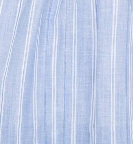 Vestido niña tirantes a rayas azul y blanco de Ancar | Aiana Larocca