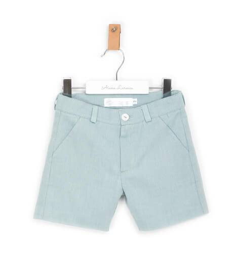 Pantalón niño villela verde | Aiana Larocca
