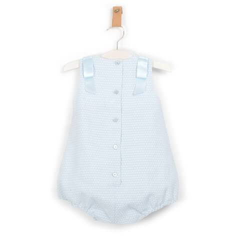 Ranita bebe pique azul de Dolce Petit   Aiana Larocca