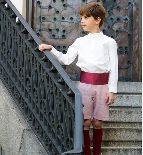 Fajín ceremonia niño | Aiana Larocca