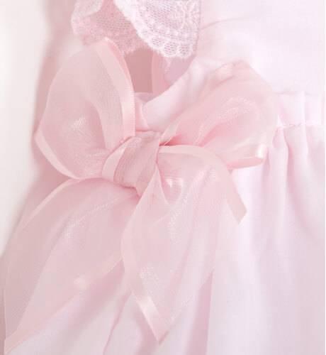 Jesusito rosa con puntilla de Dolce Petit | Aiana Larocca