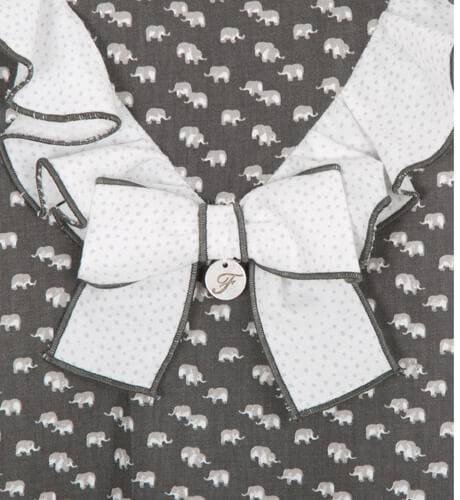 Vestido estampado elefantes de Foque   Aiana Larocca
