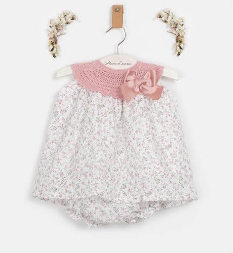 Jesusito liberty & tricot de Valentina Bebés | Aiana Larocca