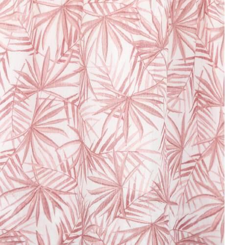 Vestido niña estampado palmeras rosas de Ancar   Aiana Larocca