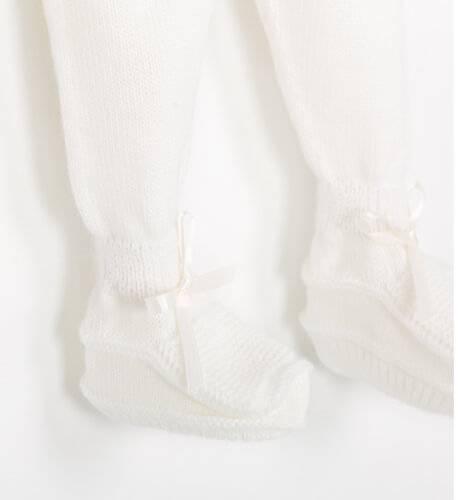 Conjunto pelele color crudo de Punto Solita | Aiana Larocca