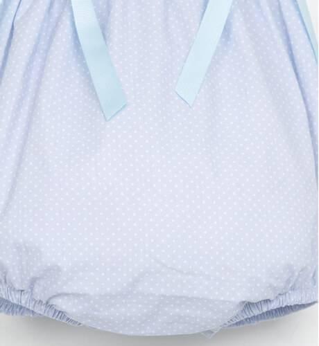 Ranita azul topitos de Valentina Bebés | Aiana Larocca