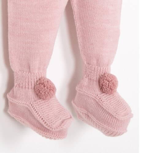 Conjunto pelele color rosa de Punto Solita | Aiana Larocca