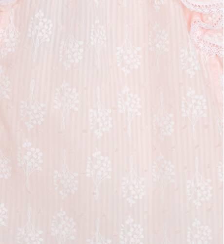 Vestido ceremonia rosa-salmón de Foque | Aiana Larocca