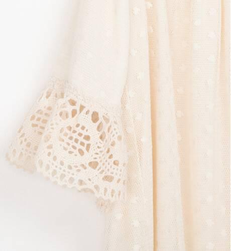 Vestido niña ceremonia tul plumeti de Nekenia | Aiana Larocca