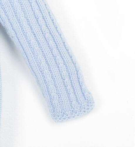 Pelele bebe azul empolvado de Wedoble | Aiana Larocca