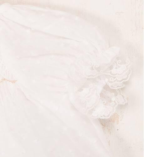 Conjunto niña plumeti punto nido ingles de Mikamamá | Aiana Larocca