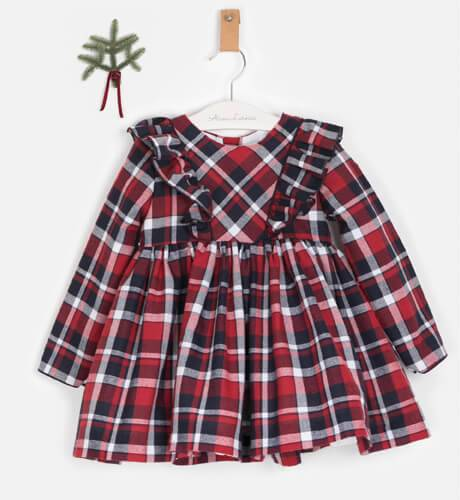 Vestido niña escocés de Dbb Collection | Aiana Larocca