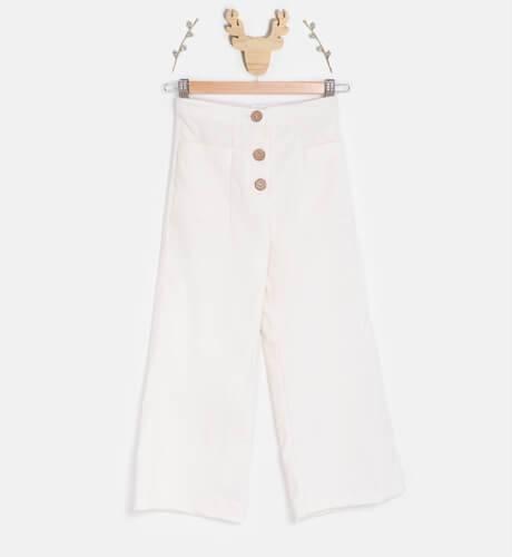 Pantalón pana color crudo de Ancar | Aiana Larocca