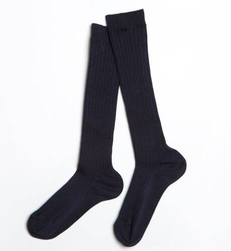 Calcetines canalé alto | Aiana Larocca