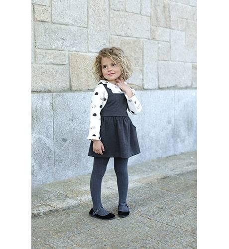 Vestido estilo pichi estampado erizos de Ancar | Aiana Larocca