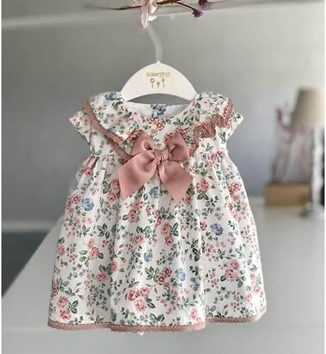 Jesusito bebe estampado florecitas de Valentina Bebés | Aiana Larocca