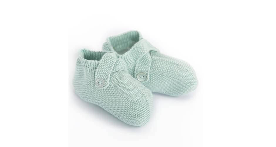 -NUEVO- Patucos bebé verdes de Wedoble | Aiana Larocca