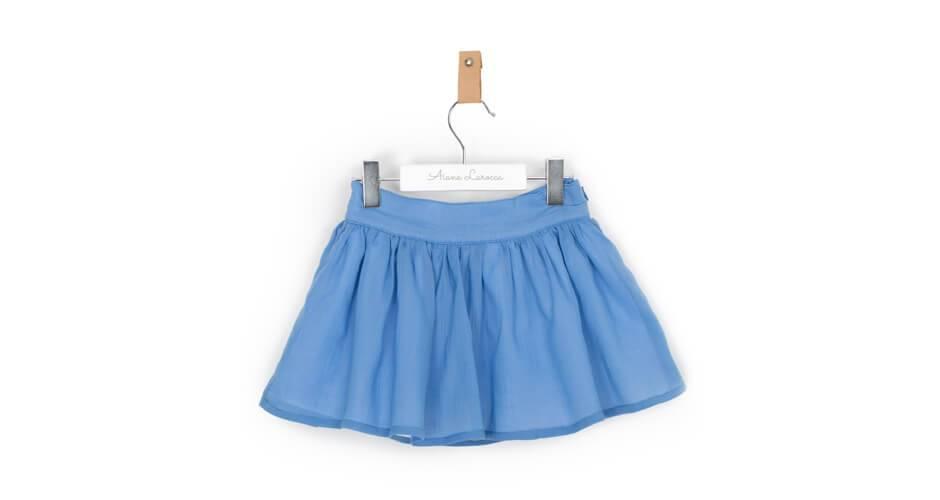 -NUEVO- Falda niña azul de Boometi | Aiana Larocca