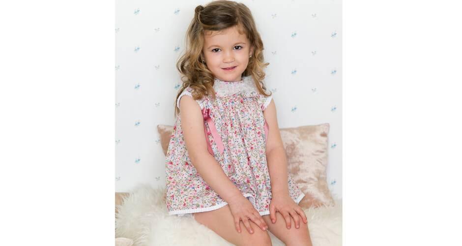 -NUEVO- Jesusito bebé liberty flores de Valentina Bebés | Aiana Larocca