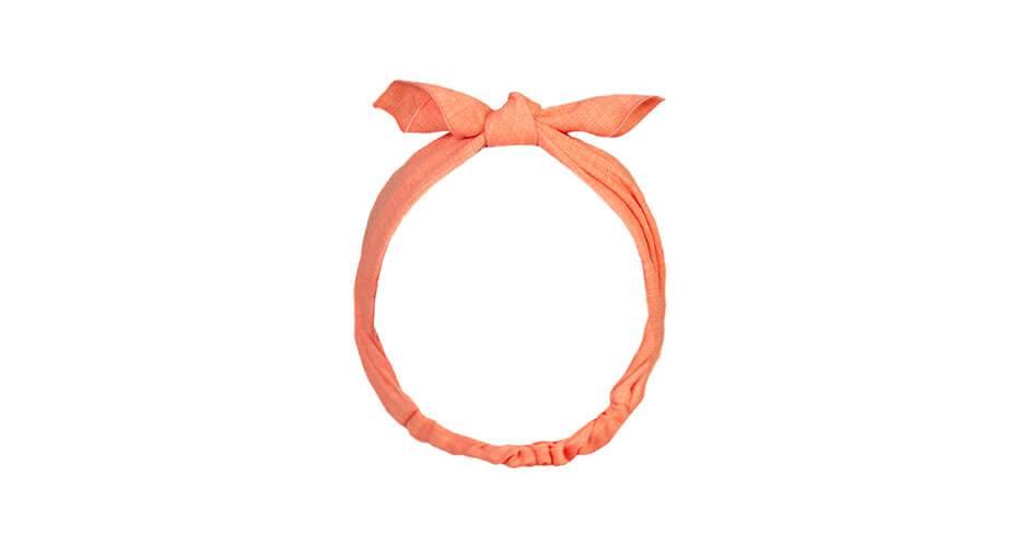 Turbante coral de Eve Children | Aiana Larocca