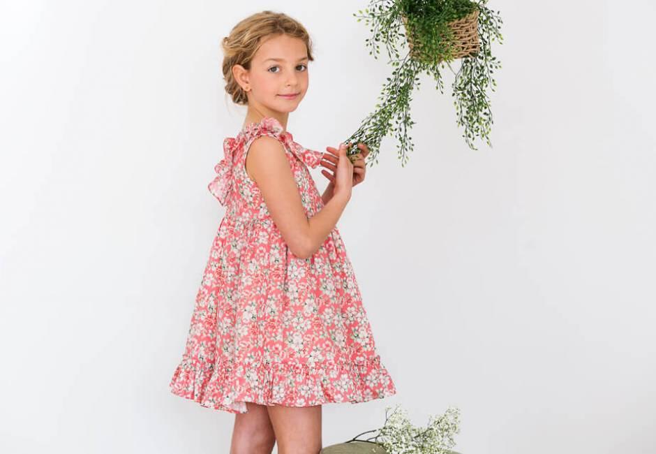 Vestido estampado coral de Rochy | Aiana Larocca